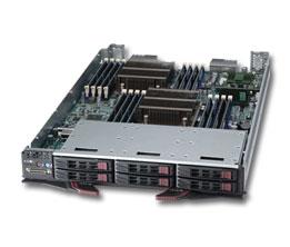 Supermicro GPU 10Module SBI-7127R-S6 2x XeonE5-26xx, 2 x 2.5