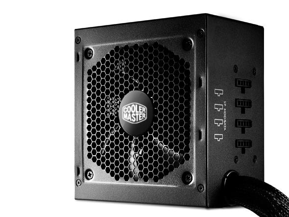 CoolerMaster GM 450W PFC v2.3, 12cm fan, 80 Plus Bronze, modular