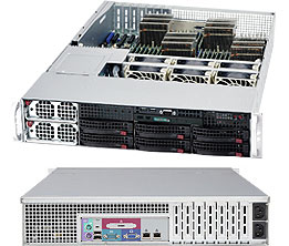 Supermicro® SuperServer AS-2042G-72RF4 - 4x 16/12Core Opteron 1TB DDR3 1400W Redundant PSU 2U