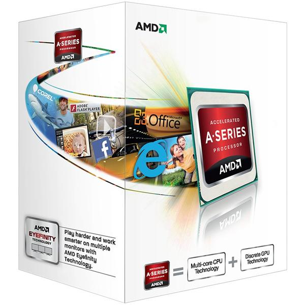 AMD, A4-4020 Processor BOX, soc. FM2, 65W, Radeon TM HD 7480D