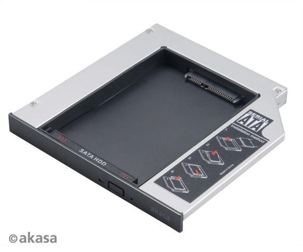 AKASA AK-OA2SSA-BK N.Stor, for 2,5