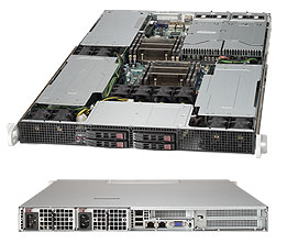 Supermicro Server SYS-1027GR-TR2 1U DP