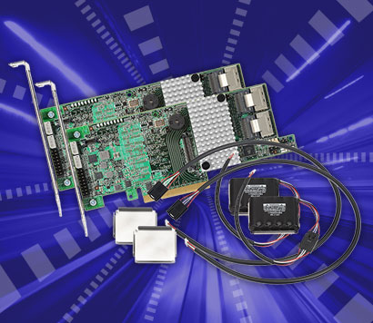 LSI 9271 8-Port int., 6Gb/s SAS, PCIe 3.0 Syncro RAID Controllers (2)