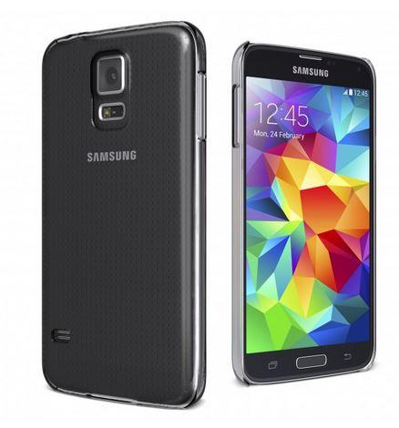 Cygnett, obal Aerogrip Crystal pre Samsung Galaxy S5, štíhly, pevný, priehľadný