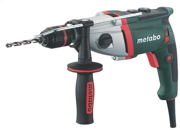 Metabo SBE 900 Impuls 900-Wattová Dvojrýchlostná príklepová vŕtačka s elektronikou