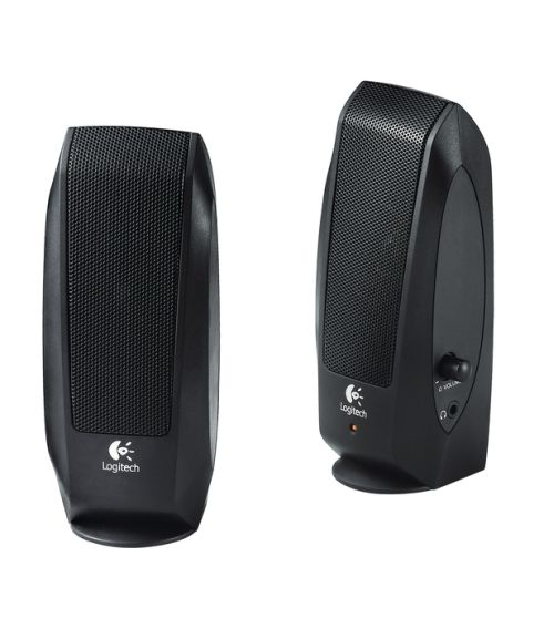 Logitech® Speakers S120 - BLACK - ANALOG - PLUGC - EMEA
