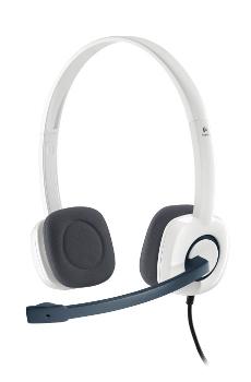 Logitech® Stereo Headset H150 - CLOUD WHITE - ANALOG - EMEA