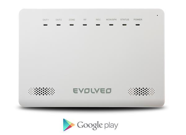 EVOLVEO bezdrôtový GSM alarm ALARMEX s ochranou proti sabotáži