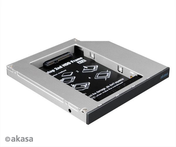 AKASA AK-AK-OA2SDE-BKV2 N.Stor, for 2,5