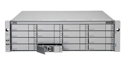 Promise Vess R2600iS, 3U 1Gb iSCSI x4 Single controller,redundant PSU