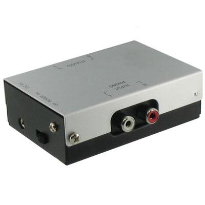 Connect Research CRPA005 Nízkošumový predzosilňovač pre gramofóny