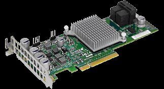 Supermicro AOC-S3008L-L8e 12Gb/s Eight-Port SAS Internal HBA Adapter