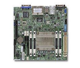 Supermicro Motherboard MB Atom C2550 4-core (16W TDP), 4x DDR3 ECC SODIMM, 2xSATA3, 4xSATA2,1xPCI-E x8, 4xLAN,