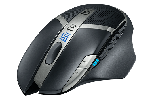 Logitech G602 Wireless Gaming Mouse - 2.4GHZ - EER2