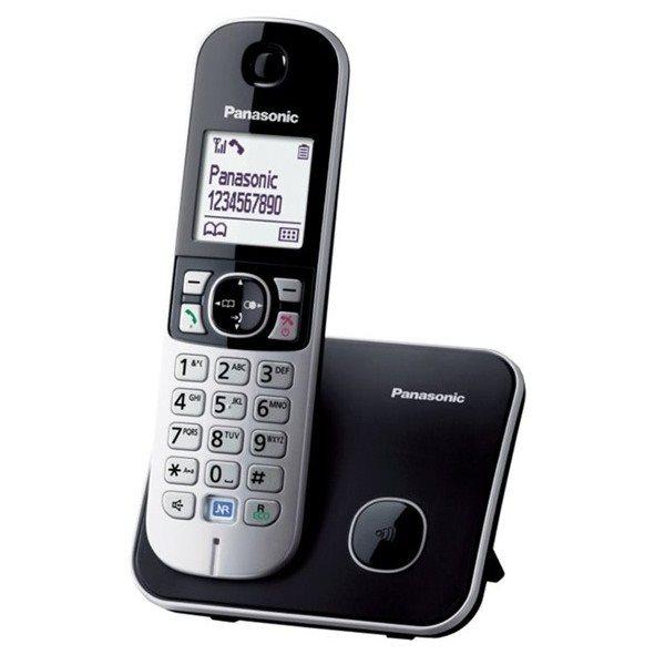 Panasonic KX-TG6811FXB telefon bezsnurovy DECT / cierny 1x