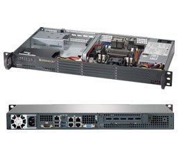 Supermicro Server SSYS-5018A-TN4 1U Intel® Atom™ C2750 server
