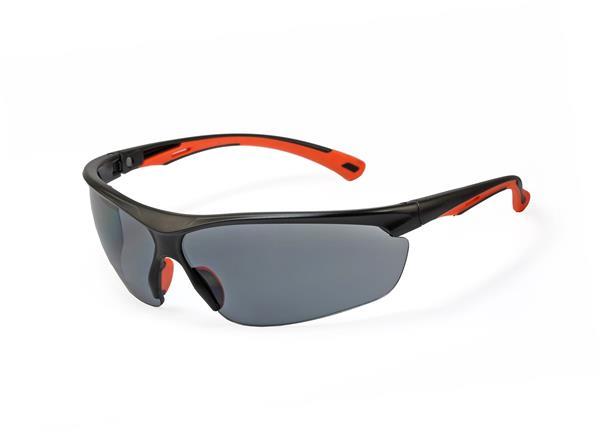 MSA MOVE-NEON okuliare, dymové sklá, povrchová vrstva Sightgard, UV400