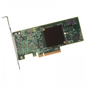 LSI SAS 9341, PCI-E 3.0 12Gb/s, SATA/SAS RAID0,1,10,5 ,6 4-ch, bulk