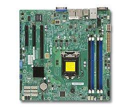 Supermicro MB Xeon E3-1200V3 X10SLM+-F C224 2xGLAN RAID