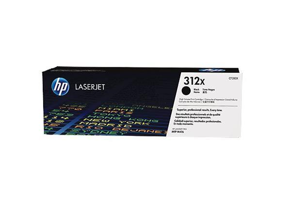 HP toner čierny HP312X /vyťaženosť cca 4400str/