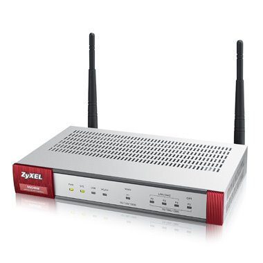 ZyXEL ZyWALL USG 40W UTM Security UTM solution: Firewall, VPN: 10x VPN IPSec/15x SSL (5 default ), 4x 1Gbps (3x LAN/DMZ,