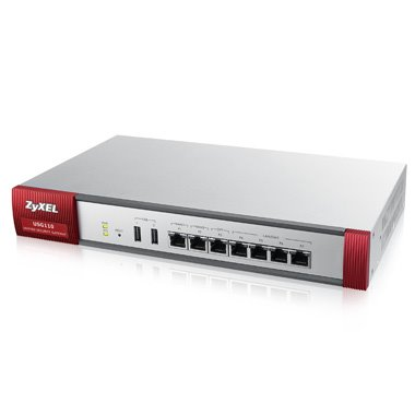 ZyXEL ZyWALL USG 110 UTM, Security UTM solution: Firewall, VPN: 100x IPSec/ 25x SSL (5 default ), 6x 1Gbps (4x LAN/DMZ,