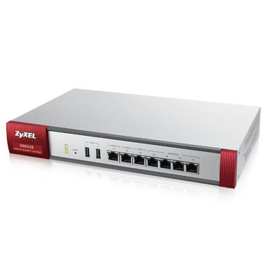 ZyXEL ZyWALL USG 210 UTM, Security UTM solution: Firewall, VPN: 200x IPSec/ 50x SSL (10 default ), 6x 1Gbps (4x LAN/DMZ,
