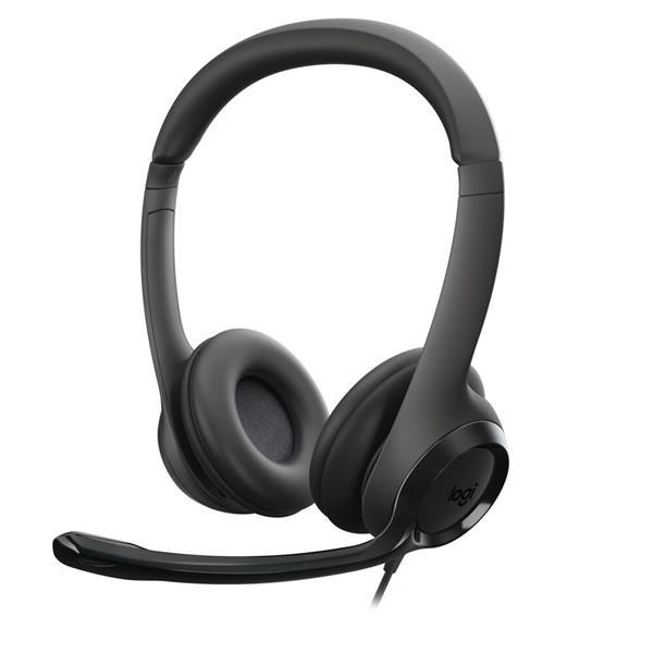 Logitech® USB Headset H390 - USB - EMEA
