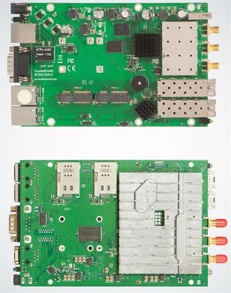 MIKROTIK RouterBOARD 953GS-5HNT + L5 (680MHz, 128MB RAM, 3xGLAN, 1x 5GHz, 2xSFP,2xmPCIe)