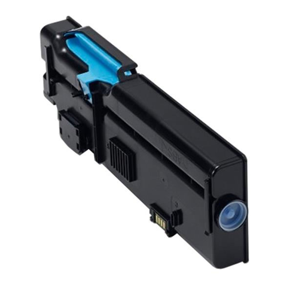 Dell 4000-Page Cyan Toner Cartridge for Dell C2660dn/C2665dnf Color Printers Customer Install