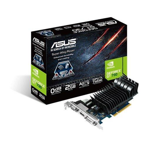 ASUS GT730-SL-2GD3-BRK 2GB/64-bit, GDDR3, DVI, HDMI,D-Sub + LP Bracket
