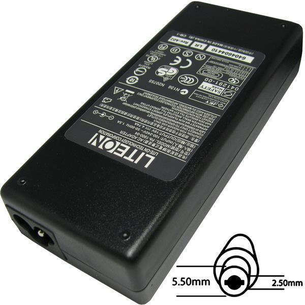 ASUS orig AC NAPÁJACÍ ADAPTÉR 90W 19V 3PIN 5,5x2,5mm neobsahuje PW CORD CEE