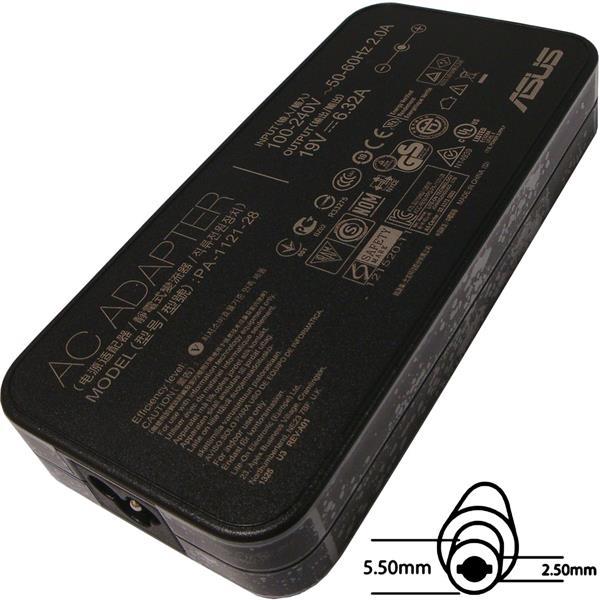 ASUS AC NAPÁJACÍ ADAPTÉR 120W 19V 3pin 5,5x2,5mm neobsahuje PW CORD CEE