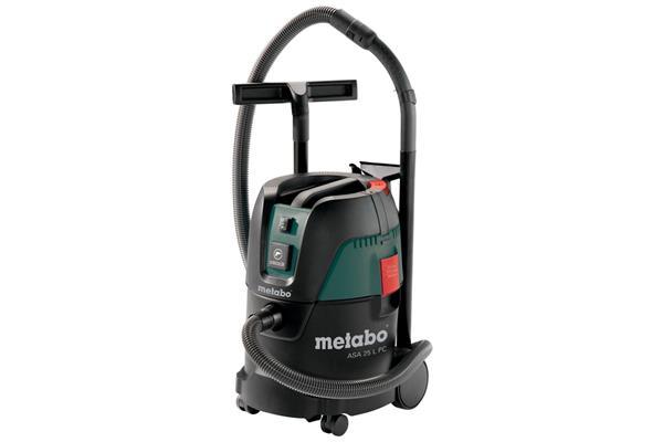 Metabo ASA 25 L PC 1250-Wattový Vysávač s manuálnym čistením filtra a zapínacou automatikou