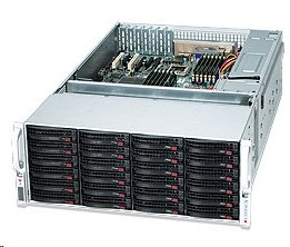 Supermicro® CSE-847E26-R1K28LPB 4U chassis chassis 36x Hot-swap HDD 1280W redundant PSU