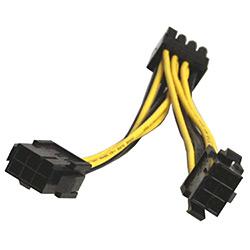 Power kábel / napájacia redukcia 2x 6PIN na 1x8PIN PCIE