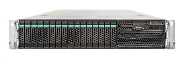 Intel® 2U Server System R2216GZ4GC R2216GZ4GC (Rack 2U, 2xE5-2600, 24xDDR3 RDIMM 1600MHz, 16x2.5' HDD HotSwap, RAID (1