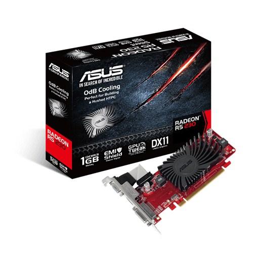 ASUS R5230-SL-1GD3-L 1GB/64bit, DDR3, DVI, VGA, HDMI, LP