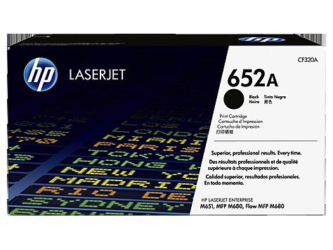 CF320A čierna tonerová kazeta HP 652A LaserJet