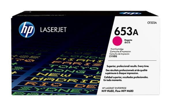 CF323A purpurová tonerová kazeta HP 653A LaserJet