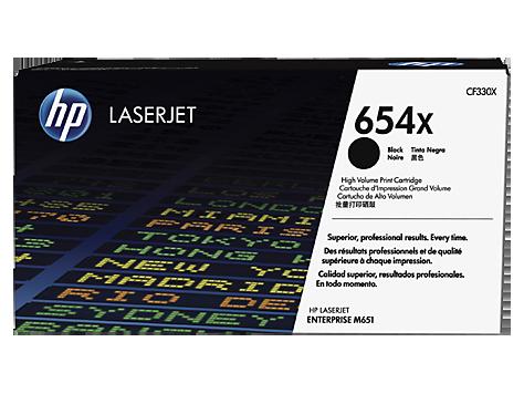CF330X čierna tonerová kazeta HP 654X LaserJet