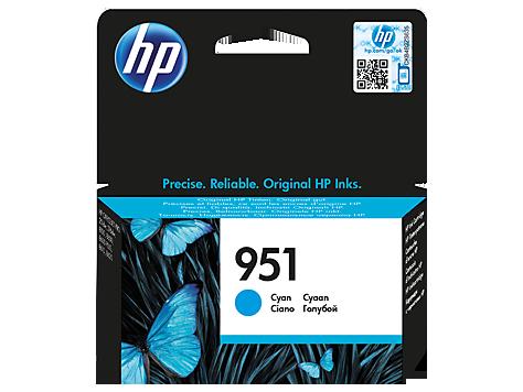 HP náplň č. 951 azúrová
