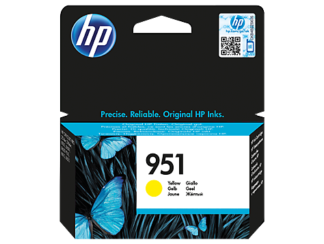 HP náplň č. 951 žltá