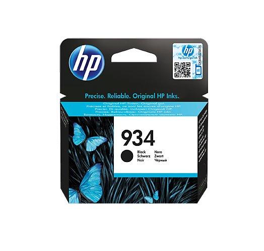 HP Čierna originálna atramentová kazeta HP 934