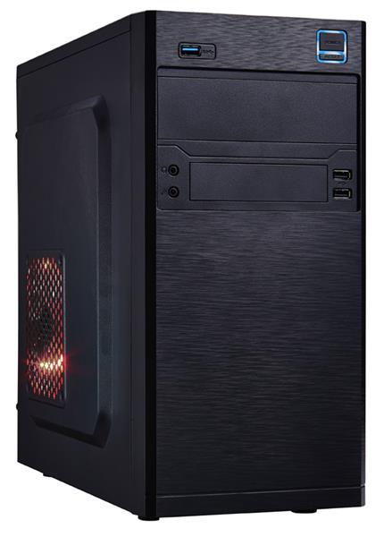 Eurocase MC X202, skrinka mATX, bez zdroja, 2xUSB2.0, 1xUSB3.0, čierna