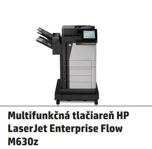 HP LaserJet Enterprise Flow MFP M630z