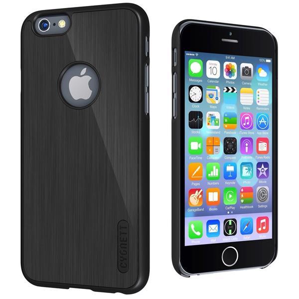 Cygnett, obal UrbanShield Aluminium pre iPhone 6/6S, čierny