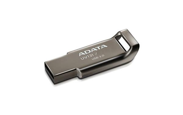 64 GB . USB kľúč . ADATA DashDrive™ Classic UV131 USB 3.0, chromový