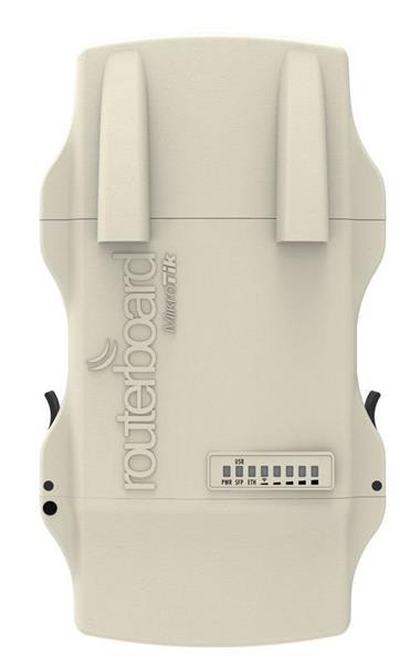 MIKROTIK RouterBOARD NetMetal 5 + L4 (720MHz,128MB RAM,1xGLAN,SFP+USB+mPCIe,1x 802.11ac dual chain,2xrSMA) outdoor