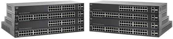 Cisco SB SG220-26P 24-Port Gigabit Smart Plus Switch, 2x combo, PoE